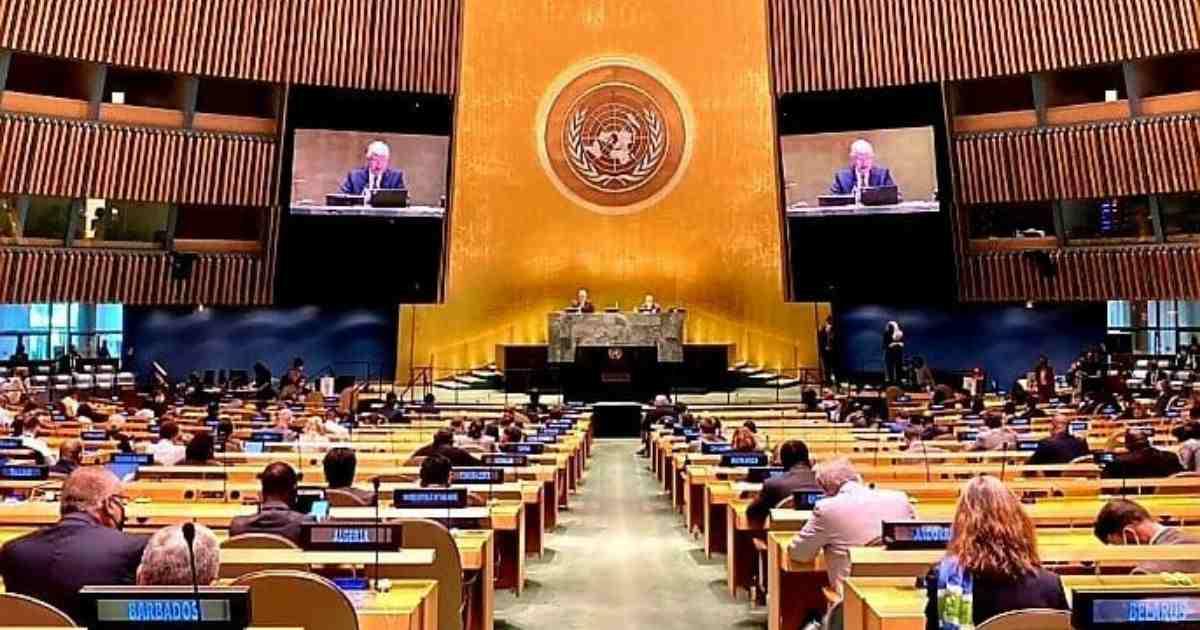 76th UNGA session: Maldives elected president, Bangladesh VP