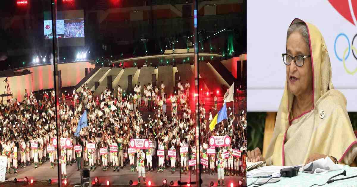 PM opens Bangabandhu 9th Bangladesh Games